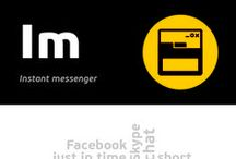 [Im] Instant messenger / Instant messaging is a form of 'live' text communication with the use of computers or mobile devices and telecommunication networks. In contrast to chat mechanisms of the instant messaging are based on the push model in which the messages sent by the sender to the recipient are presented without necessity of logging into the same space on the network.