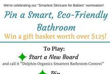 Contests and Giveaways / Check in often for fun contests and giveaways featuring Dolphin Organics as well as other amazing eco-friendly products we love!