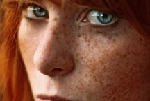 "Freckles / Not all redheads have freckles but those that do deserve to stand proud. ""A face without freckles is like a night sky without stars!"" / by Everything for Redheads"