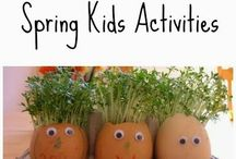 Spring Has Sprung! / Loads of fun activities and crafts to enjoy with your kids this spring