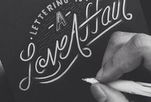 Lettering & Calligraphy / by Vara Pappas