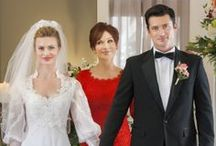 JUNE IN JANUARY - A Hallmark Channel Original Movie / PREMIERES SAT January 18th 7/6C! How will a bride react when her scheming future mother-in-law pushes up her June wedding to wintry January?  / by Hallmark Channel