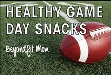 ❯❯❯ Healthy Game Day Snacks with BeyondFit Mom / Who wants some FREE workouts & recipes?! Join me here: www.beyondfitphysiques.com/jumpstart