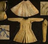 14th Century Dress / European women's clothing from the 1300 to 1400 hundred with a focus on primary source materials, particularly manuscript pages.