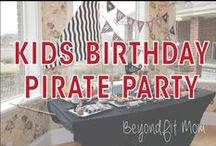 ❯❯❯ Kid's Birthday Pirate Party with BeyondFit Mom