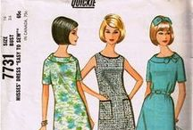 1960s Fashion / Vintage fashions of the swinging sixties. Mostly for museums and archives. I tend towards primary sources.