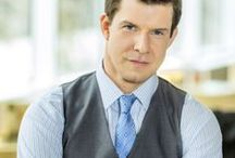 Oliver O'Toole - SIGNED, SEALED, DELIVERED / Leader of the #POstables is Oliver O'Toole (Eric Mabius), a genius postal detective & true gentleman with a strong moral compass. Oliver considers the stamped & mailed letter to be the gold standard of human communication. He respects the written word, often times quoting Shakespeare in order to highlight a point.  / by Hallmark Channel