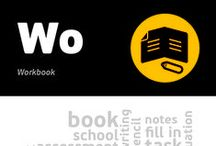 [Wo] Workbook / Workbook is a form of a book adapted to exercises. It includes all different kinds of tasks that can be directly solved in the book by writing, drawing, filling proper gaps etc. Workbook is a commonly used mechanism in school education. However, it can also be an element of various processes aiming to develop professional and occupational competences.