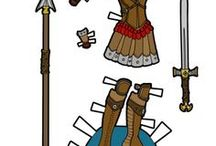 Paper Thin Personas / My printable paper dolls from my blog- Paper Thin Personas.