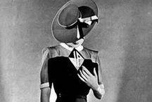 Moda anos 40/1940's fashion / Referências de moda e beleza dos anos 40.