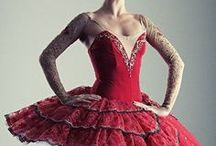 Ballet and Ballerinas / Ballerina costumes, particularly tutus, and clothes.