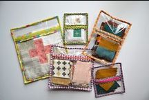 Zipper Madness / zipper pouches, quilted zipper pouches, zipper / by Twiggy & Opal