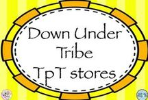 Down Under Tribe TpT Stores / Other Australians and Kiwis who have awesome stores on TpT.
