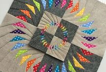 Paper Pieced / quilt, paper pieced / by Twiggy & Opal