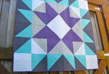 Half Square Triangle Quilts / Half Square Triangles, HST, Quilts