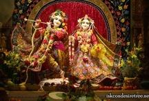 First Sringar Darshan of ISKCON NVCC Temple Deities
