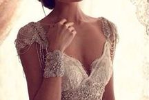 Wedding Dresses - Inspiration  / Vintage, Lace, Capped Sleve, Elegant Wedding dresses.  If was getting marred again, this is what I would choose.  / by Irene and Ozzie