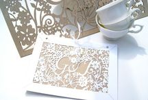 Wedding invitations - inspiration  / by Irene and Ozzie