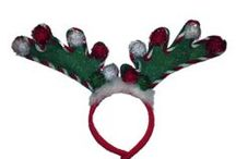 Reindeer Ears / Elements contest for the best looking decorated reindeer ears.  The winner of the best looking ears gets to pick out a charity that Elements Salon and Wellness Spa will donate to.