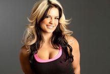 Celeste Bonin❤️ / Former WWE Divas Champ.  / by Caitlyn Marie