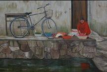 My Bicycle Paintings