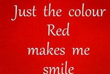 ALL THINGS RED / LOVE RED