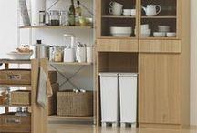 Organization / Organizing closets, kitchen, and around the house :)
