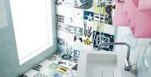 bathrooms the ARTTILES way / bathroom - shower - color - happybath - tiles - arttiles - design - tilemix