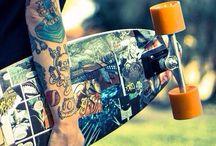 Longboard / Longboard, skate, beach, let it roll, board, boarding, sports, skater things, love and life, beach life, ride, surf and skate, skate on, sk8, skater, cool board.