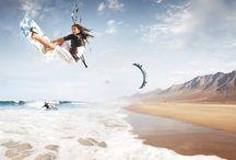 Kite  / Kite, kitesurfing, kitesurf, kitesnow, sports, surfing, kiteboards, boards, cool things, flysurfer.