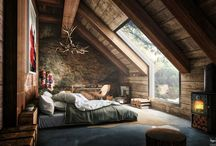 Rustic / Rustic, rustico, house, home, deco, decoration, bathroom, decoración, rustic modern, kitchen, dream house, furniture, space,  favorite place, casa, interior, muebles, attic, loft, wooden, farmhouse, Mountain house, espacio, bedroom.