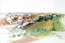 Drawings I like / Landscape architecture drawings I like.