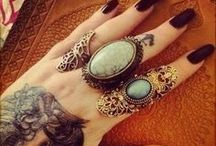 tattoo and rings