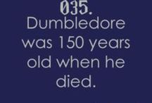 Harry Potter facts / Yep. It's in the right category.