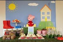 Party Theme: Peppa Pig / by Marca Carpenter