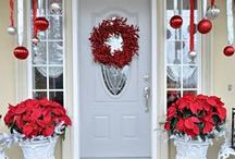 Winter/Holiday Ideas / Brighten up the holidays with these winter planters and decorating ideas!