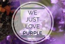 We love purple <3