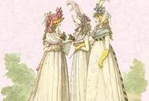Women's Georgian/Regency fashion / Women's fashion from 1775-1817