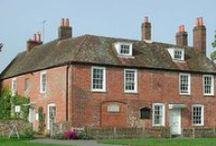 Places Jane Austen lived or visited / Place where Jane Austen either lived or visited throughout her lifetime
