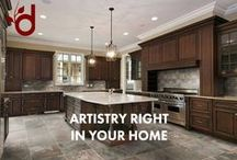 Artistry and Tile / Just a big collection of Tile flooring, mosaic, and backsplash ideas!