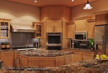 Elegant stone surfaces / Just a big collection of stone surfaces; countertops, bathrooms, tables, and more!