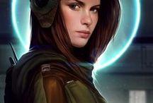Sci-Fi Female Avatars