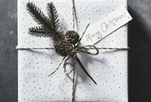 Christmas: Present Wrapping / It's not just what's on the inside that counts – give extra-special presents, dressed with our gift wrap, stunning ribbons and tags.