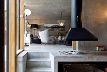 Fireplaces and Spaces / interior architecture design of fireplaces and their surroundings.