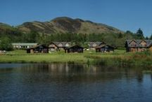 Lodges / We have 11 five-star luxury lodges each with their own private hot tub over looking Loch Lomond