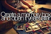 Bucket list, to do / Everything that I still want to do before I die.