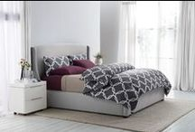 Pewter Bedroom Inspiration / Pewter is a beautiful, modern bedroom color that provides a neutral palette for bright pops of accent colors, and fun patterns! Our new Sleep Number Smart Classics bedding makes adding color to your bedroom easier than ever. Follow this board for inspiration on how to add pewter to your bedroom! / by Sleep Number
