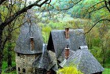 házak- houses