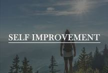 Self Improvement / Learn how to be the best possible version of yourself. Leave a comment on any of my pins if you are a blogger in the self-improvement niche and would like a board invite :)