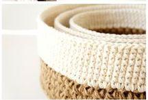 DIY | Crochet | Baskets